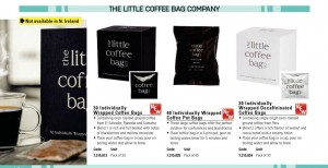 The Little Coffee Bag Co ' Spill The Beans' on their latest deals with Lyreco