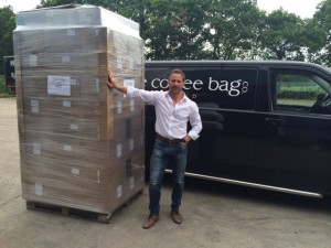 The Little Coffee Bag Co team say 'Konicchiwa こんにちは' with first shipment to Japan