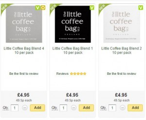 Truly 'Brew-tiful' news as The Little Coffee Bag Co joins online supermarket Ocado